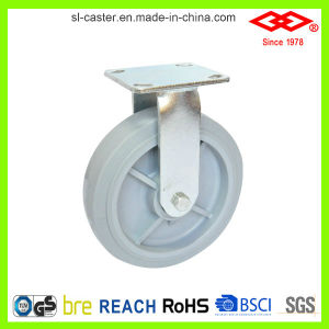 8 Inch Swivel Locking Heavy Duty Rubber Caster (P701-34FK200X50S) pictures & photos