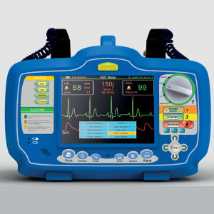 Med-De-Dw7000 Biphasic Automatic Aed Defibrillator Monitor pictures & photos