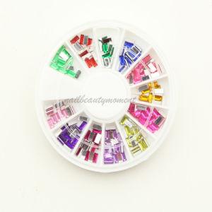Wholesale Art Nail Rhinestone Beauty Rectangle Gem Decoration Wheel (D17) pictures & photos