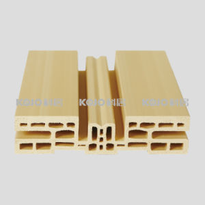 Eco-Friendly No Formaldehyde WPC Interior Door Frame (PM-132-2) pictures & photos
