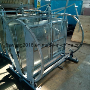 Galvanized Turning Round Sheep Crate pictures & photos