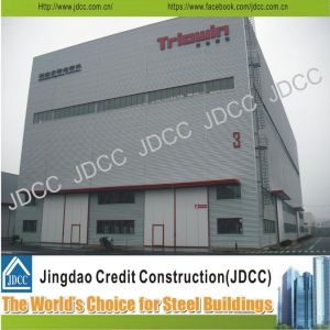 China Jdcc Galvanized Light Steel Structure Workshop pictures & photos
