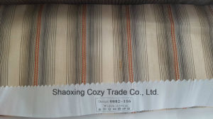 New Popular Project Stripe Organza Voile Sheer Curtain Fabric 0082116 pictures & photos