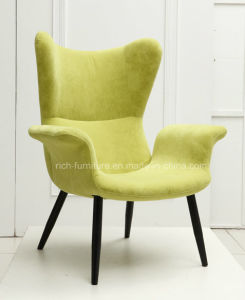 Modern Fabric Restaurant Chair with Armrest pictures & photos
