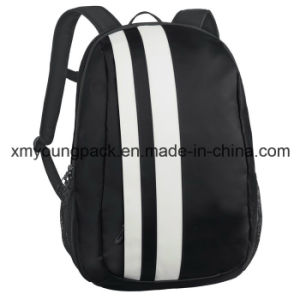 Fashion Black Tarpaulin Travel Laptop Backpack pictures & photos