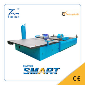 Garment Manufacturing Machineryautomatic Fabric Layer Cutting Machine for Garment pictures & photos