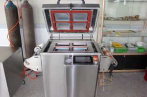 Yupack 2015 Latest Table Top Vacuum Tray Sealer Machine&Map Tray Sealing Machines pictures & photos