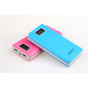 High Quality LCD Functional Dual USB Mobile Power Bank (Z6) pictures & photos