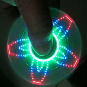 LED Light Fidget Spinner Change Pattern Hand Spinner pictures & photos