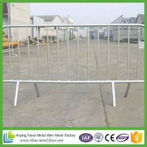 1100*2200mm Hot-Dipped Galvanized or Power-Coating Removable Flat Feet Barrier pictures & photos