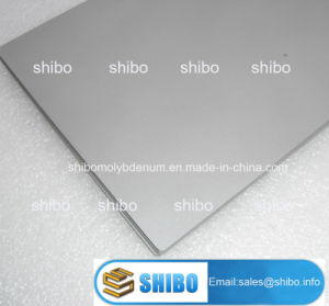 Cold Rolled Mla Alloy Molybdenum Plates pictures & photos