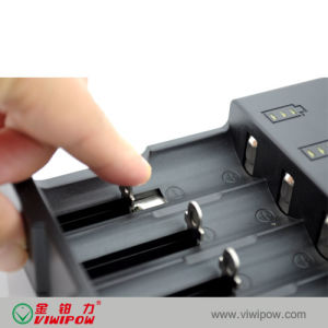 4 Slots AA Battery Charger for 18650 Li-ion Battery (VIP-C021)
