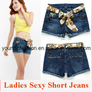 Womens Short Jeans, Ladies Short Pants, Custom Jeans for Women