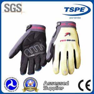 Non-Slip Waterproof Microfiber Full Finger Motorcycle Gloves (MTV-02)
