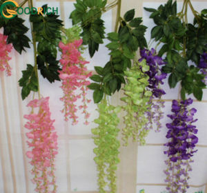 Wisteria Hanging Flower for Home Decoration pictures & photos