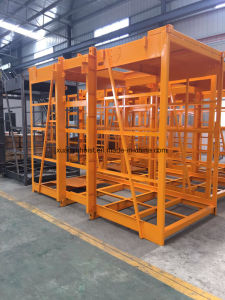 Vertical Handling Construction Material Hoist with Single / Double Cages for Renting pictures & photos