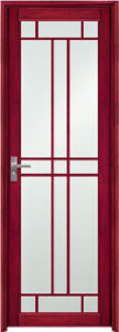 African Popular Red Aluminum Bathroom Door (EA-9676) pictures & photos