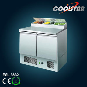 Stainless Steel Refrigerated Counter Saladette (ESL-3832) pictures & photos