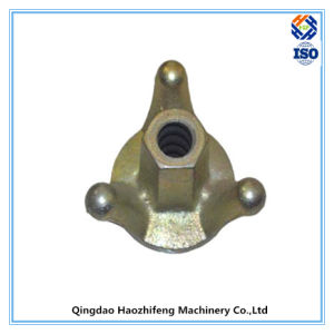 Scaffolding Casting Iron Wing Disc Nut for 15/17mm Tie Rod pictures & photos