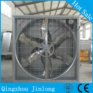 Hammer Ventilation Exhaust Fan for Greenhouse Poultry with Shutter for Cooling pictures & photos