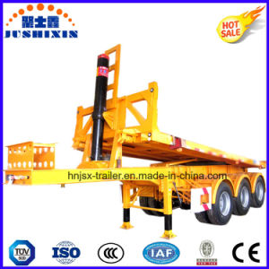 20feet 3axle Flat Bed Tipper Container Trailer pictures & photos