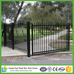 Powder Coated 2.1m X2.4m Spear Top Security Fence for Australia pictures & photos