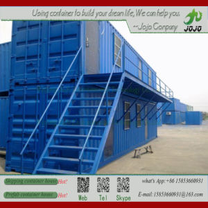 Two Storey Light Steel Structure Prefabricated Office Container pictures & photos
