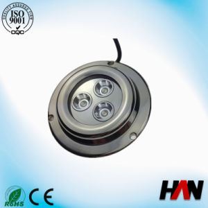 9W High Quality Stainless Steel LED Yacht Light