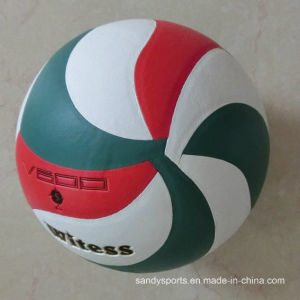 2016 New Style PU Leather Laminated Volleyball pictures & photos