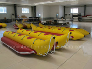 Sale Inflatable Banana Boat 8 Persons Boat Floating Boat PVC or Hypalon Tube pictures & photos