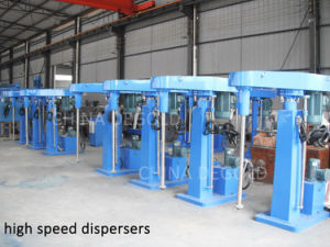 Ce Factory Automatic Hydraulic High Speed Paint Disperser Premixer pictures & photos