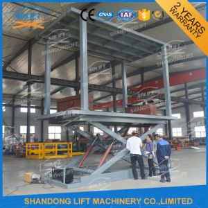 Low Ceiling Car Lift Inground Car Lift with Ce pictures & photos