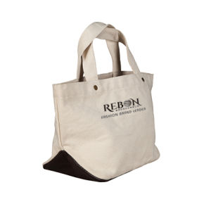 fashion Design Customized Clean Handle Shooping Cotton Bag pictures & photos