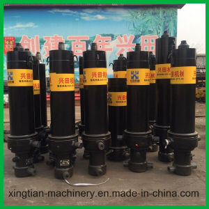 Multi-Stage Telescopic Hydraulic Cylinder with Good Price pictures & photos