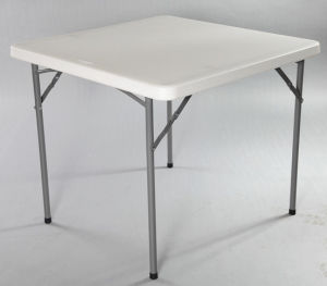 Square Plastic Folding Dining Table (SY-87F) pictures & photos