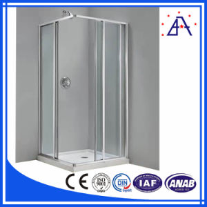 Brilliance Best Selling Anodized Aluminum Shower Door Frame pictures & photos