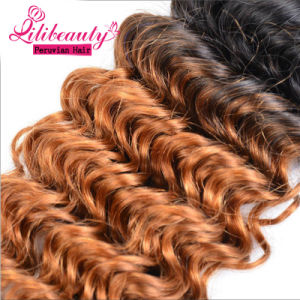 Ombre Peruvian Virgin Hair Natural Color Natural Human Hair pictures & photos