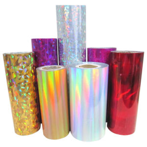 Holographic Foil for Packaging