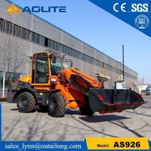 Small Front Telescopic Wheel Loader Used Low Prices for Sale pictures & photos