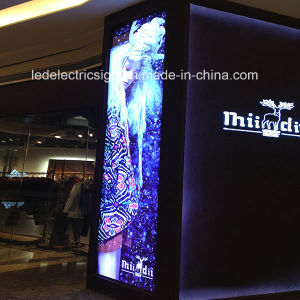 Shopping Mall Aluminum Frame Advertising LED Light Box pictures & photos