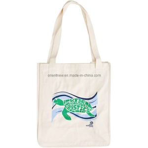 Cotton Canvas Market Bag with Printing