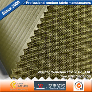 Polyester Lattice 300d Oxford PVC Fabric for Bag pictures & photos
