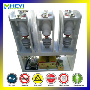 Jcz5-12kv/250A 220V Coil AC Vacuum Contactor High Voltage 3 Phase Contactor pictures & photos