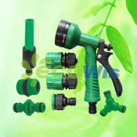 Yard Watering Trigger Hose Spray Gun Set (HT1328) pictures & photos