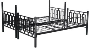 School Equipment Metal Double Bed pictures & photos