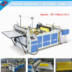 with Computer Control Nonwoven Fabric Sheet Cutting Machine with Ultrasonic Horn pictures & photos