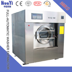 Full Automatic Industrial Washer Machine /Laundry Washing Machine pictures & photos