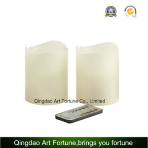 Flameless LED Wax Candle with Remote Control CE, RoHS Home Decor pictures & photos