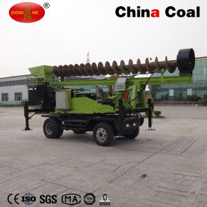 Wheeled Ground Hydraulic Static Screw Pile Driver pictures & photos