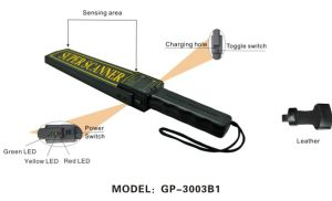 Super Scanner Metal Detector (GP-3003B1) pictures & photos